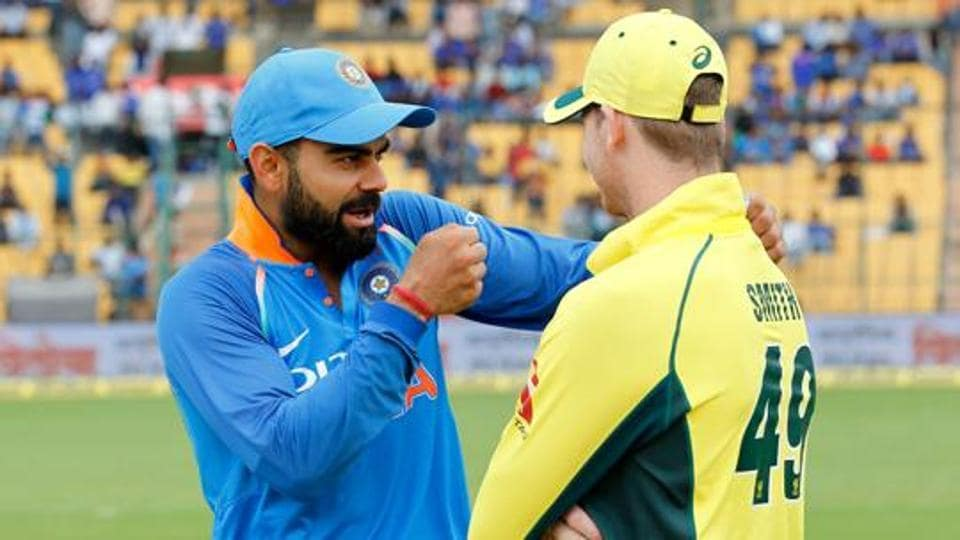 File image of Virat Kohli (left) and Steven Smith.