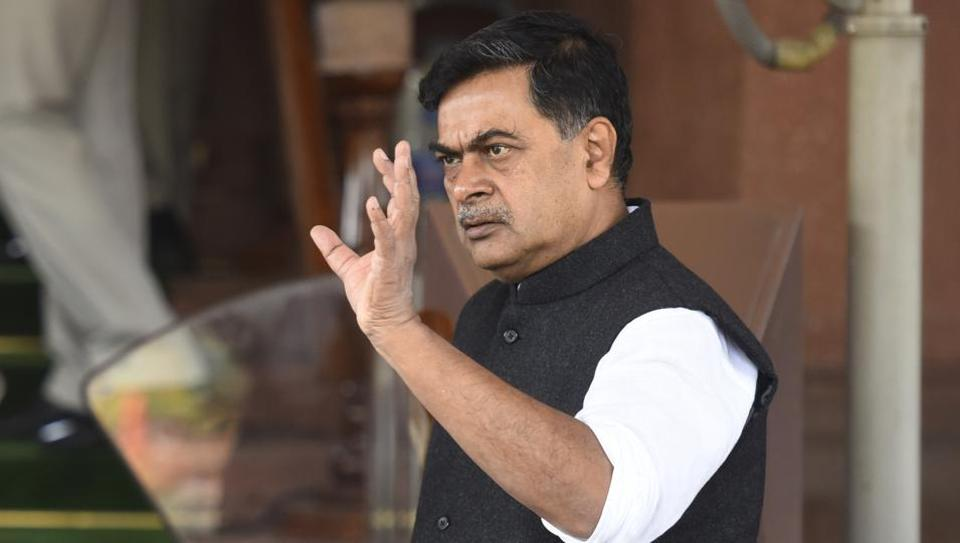 Union power minister RK Singh in New Delhi, India on Thursday, March 10, 2016. ( Photo by Sonu Mehta/ Hindustan Times)