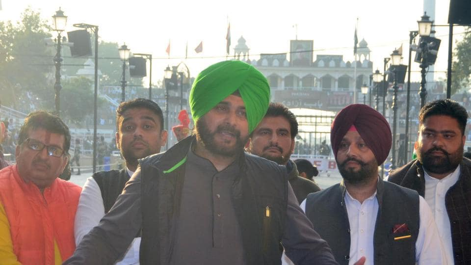 Navjot Singh Sidhu addresses the media after attending the groundbreaking ceremony for the Kartarpur Corridor, November 29. The Kartarpur Saheb opening shows that in the India Pakistan context bilateral developments follow their own logic and can surprise even the hardened cynic