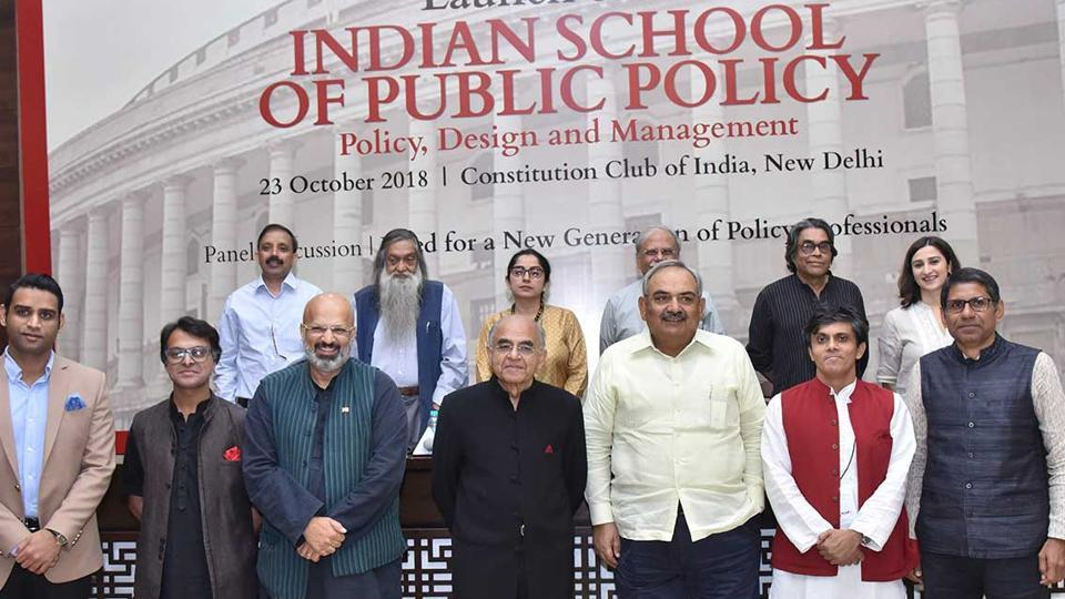 The Indian School of Public Policy (ISPP) hosted its first workshop on 'Design Interventions in Public Policy'