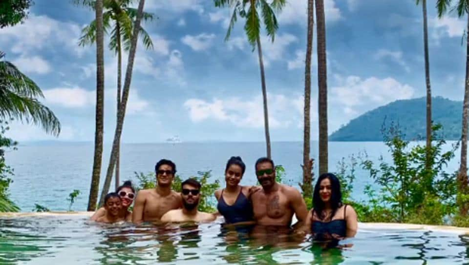 Ajay Devgn shared this picture from his family vacation on Instagram.