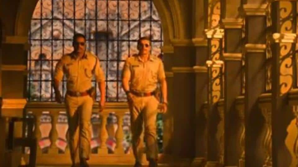 Ranveer Singh And Ajay Devgn Share The Frame In Simmba Song Mera Wala Dance