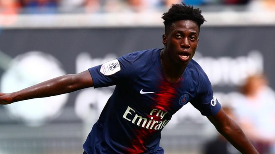 5388382e6 Timothy Weah confirms loan from Paris St Germain