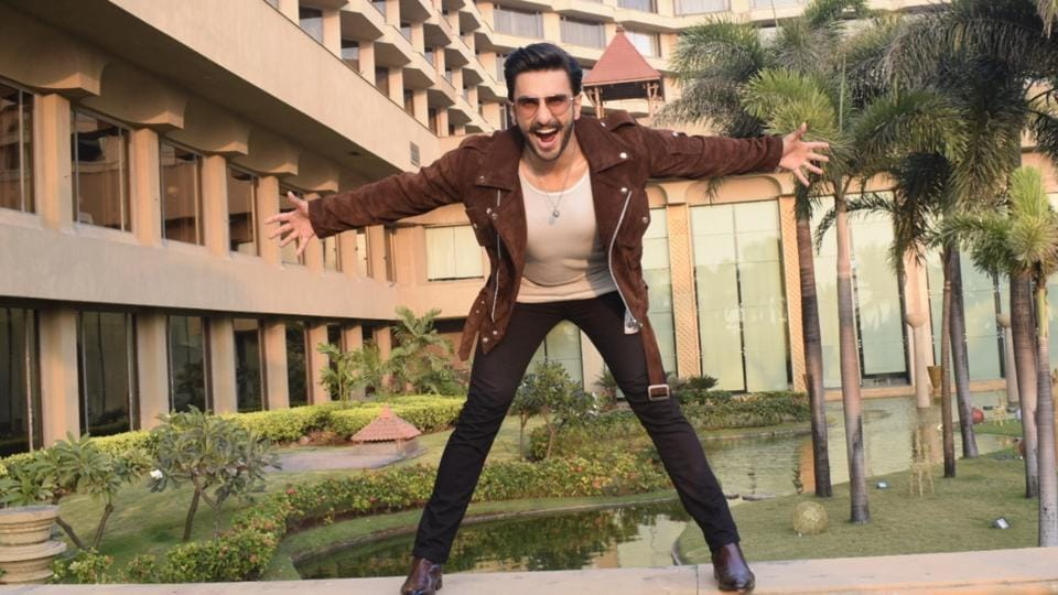 Ranveer Singh during the promotions of his upcoming film Simmba in Mumbai. (Photo: IANS)