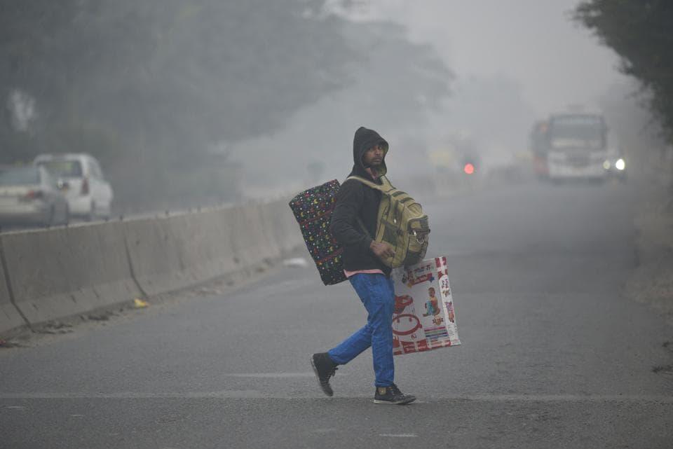 delhi winter,cold,coldest day in Delhi