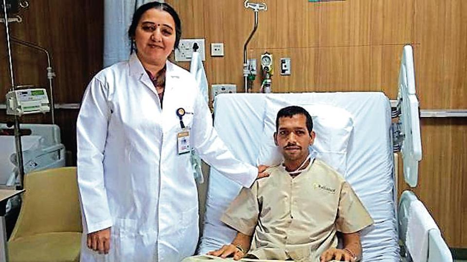Dr Shruti Tapiawala and Sachin Palav at Sir HN Reliance Foundation Hospital and Research Centre