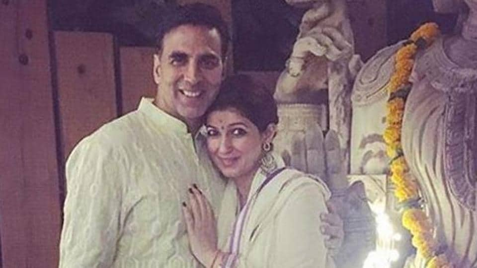 Twinkle Khanna,Akshay Kumar,Pyjamas Are Forgiving