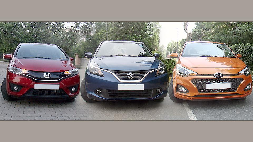 Baleno,Honda Jazz,Hyundai