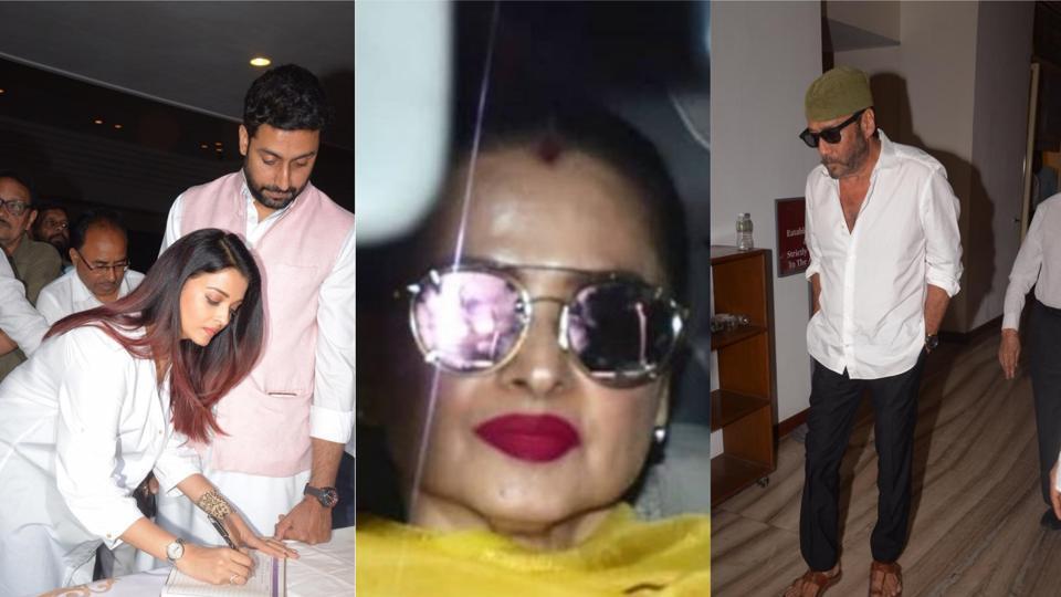 Aishwarya Rai,Abhishek Bachchan,Rekha