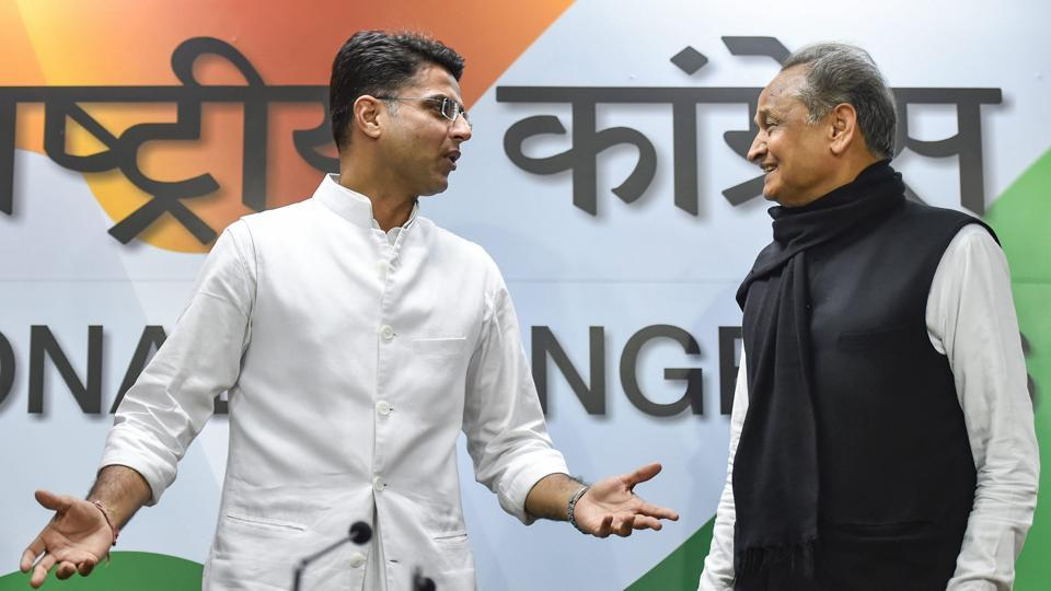 The move came after CM Ashok Gehlot and Deputy CM Sachin Pilot held meetings with Congress president Rahul Gandhi in New Delhi on Wednesday.