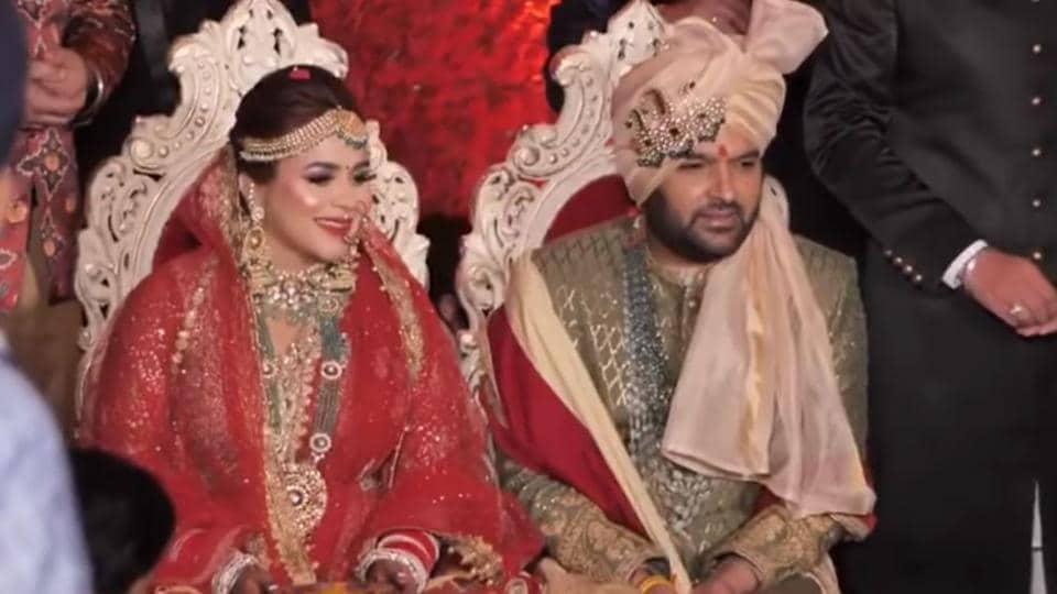 Kapil Sharma,Ginni Chatrath,Kapil Sharma Wedding