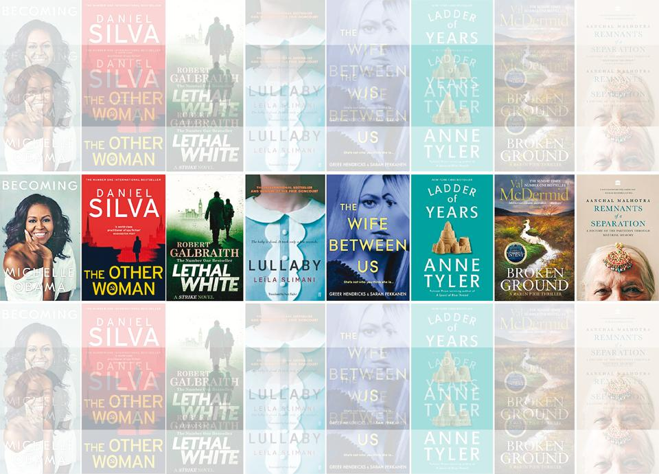 Best reads of 2018,reading list,Brunch book challenge
