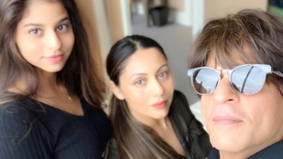 Shah Rukh Khan,Suhana,Suhana Khan