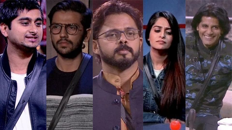 Five contestants have reached the final round on Bigg Boss 12.