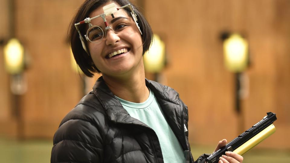 Heena Sidhu,Manu Bhaker,National Shooting Trials