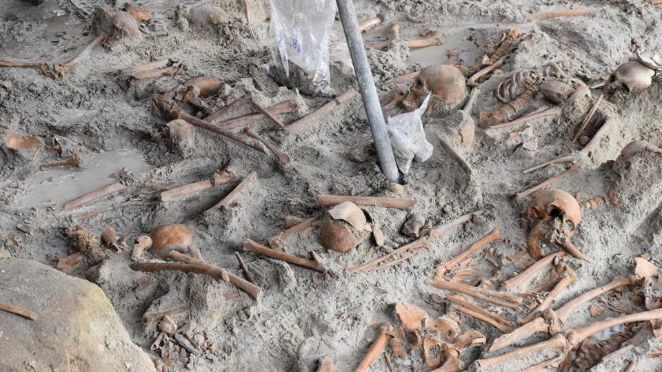 278 skeletons unearthed at Sri Lanka mass grave in Mannar | world news | Hindustan Times