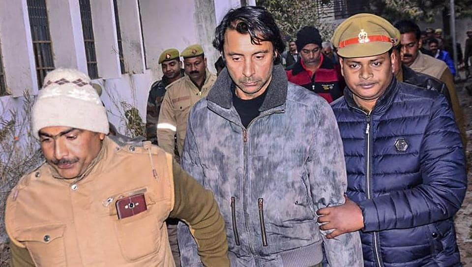 Wednesday's arrest of Jyoti Randhawa and a friend by  forest guards on charges of poaching in the Katarniya ghat sanctuary in the  jungles of Dudhwa, Uttar Pradesh  comes 18 months after his name figured in an investigation by the Directorate of Revenue Intelligence (DRI)  on  the illegal import of firearms from Slovenia by competitive shooters who were also allegedly involved in poaching.