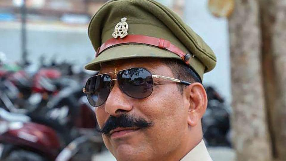 Police Inspector Subodh Kumar Singh, who was shot dead in the Bulandshahr violence on Dec. 03, 2018. Even as police released new details about his killing, a BJP MLA suggested that the police officer could have shot himself accidentally (File Photo)