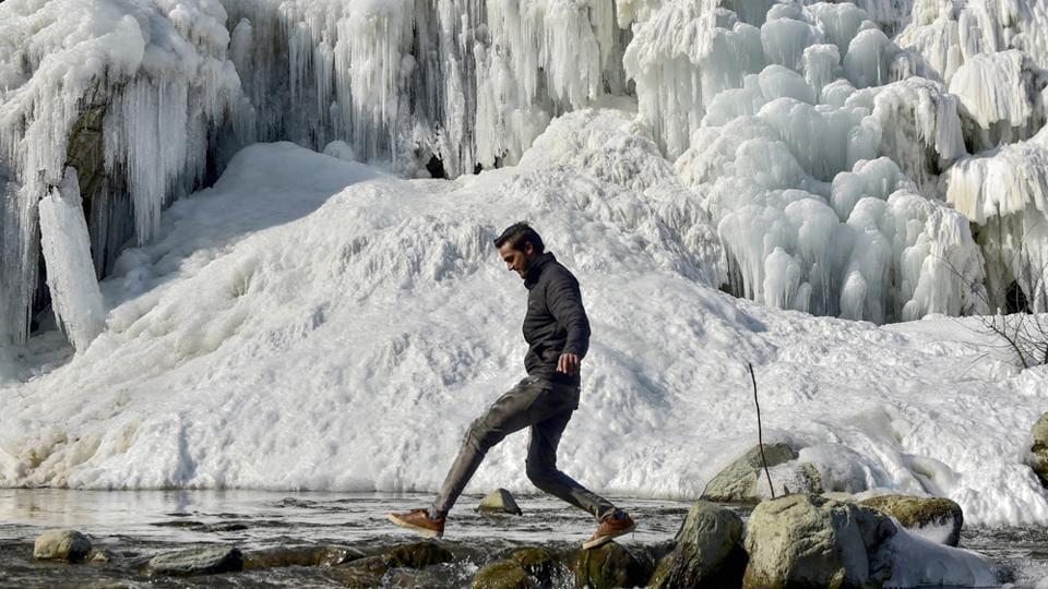 Cold wave,Kashmir,Drass