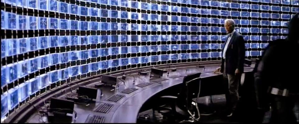 The Dark Knight's High-Frequency Generator. In Christopher Nolan's film, Batman creates this giant surveillance system to track an arch-villain, The Joker. In nature and intent, that's not unlike the security surveillance systems a number of governments have admitted to manning.
