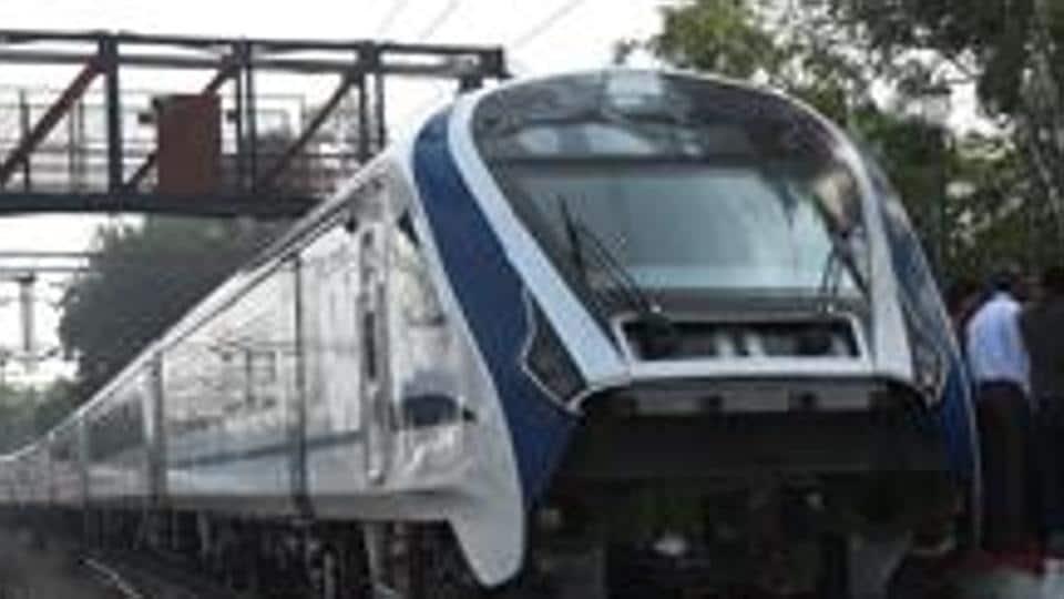 Prayagraj,train 18,shatabdi express