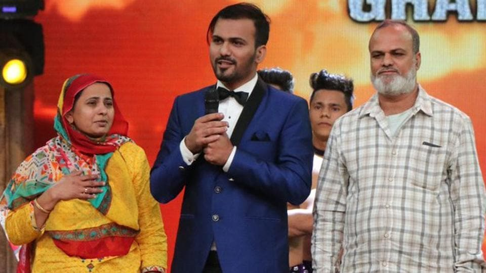 Javed Khan, a magician, won the eighth season of reality show India's Got Talent.