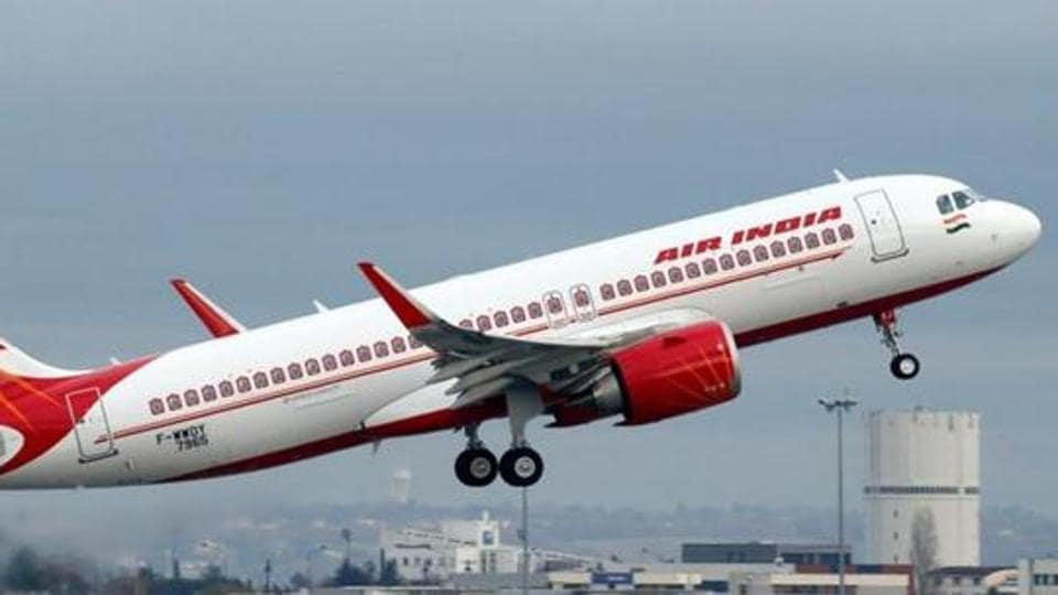 Air India passenger,Passenger strips on board,Unruly flyer