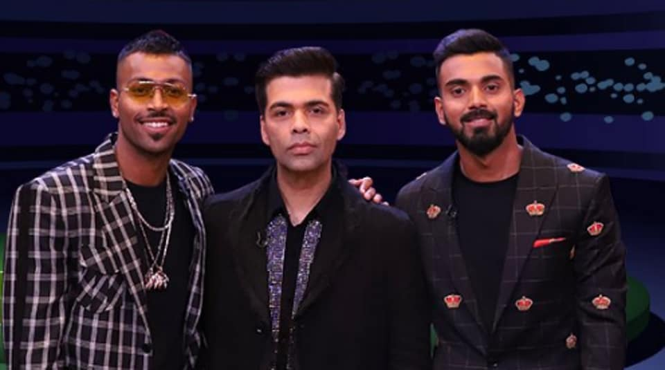 Hardik Pandya and KL Rahul will be the guests on next week's Koffee with Karan.