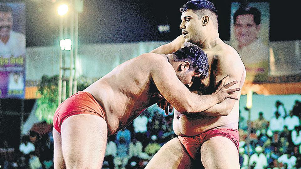Pune,wrestling championship,Services Sports Control Board