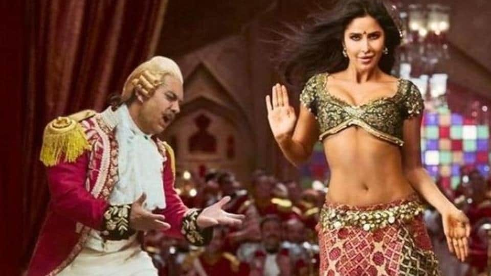 Aamir Khan and Katrina Kaif in a still from Thugs of Hindostan.