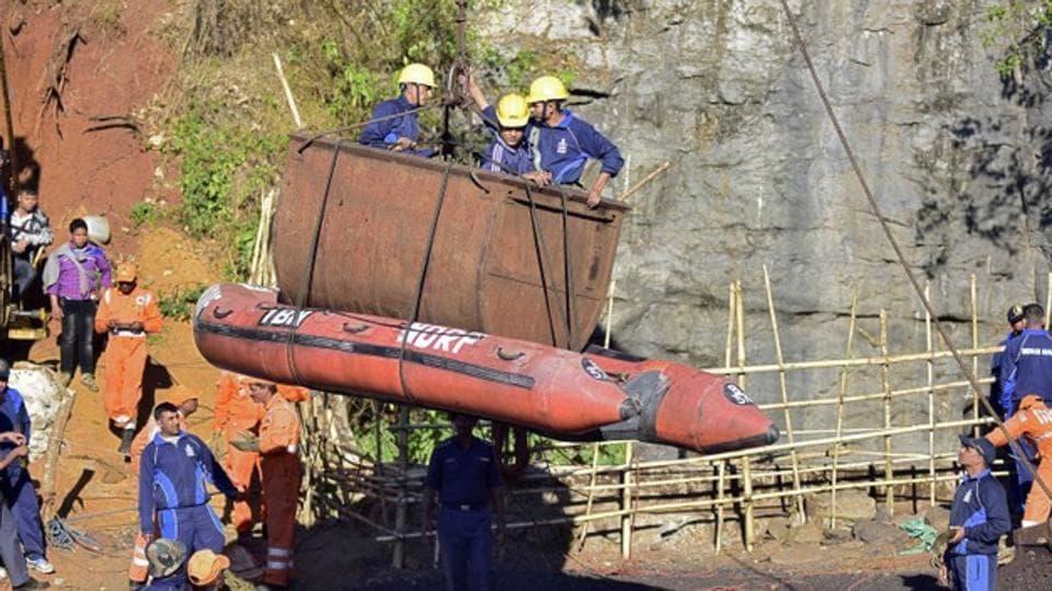 Meghalaya miners,Meghalaya,Meghalaya mine