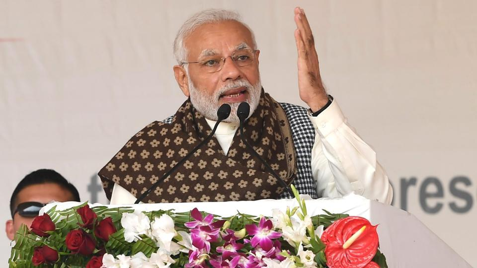 PMModi dismissed claims by some political pundits that the BJP might not get more than 180 out of 543 seats in the Lok Sabha elections.