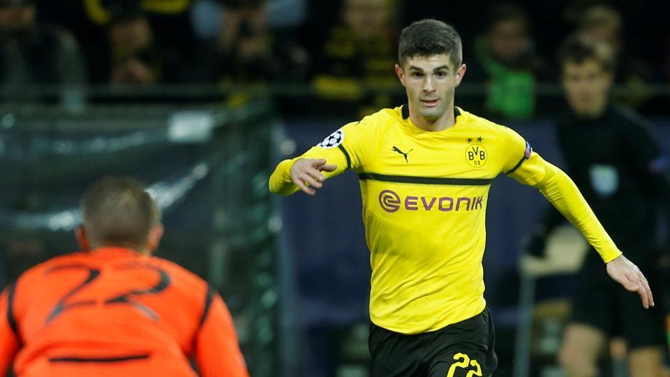 online store 332f1 9ddfb Chelsea sign American star Christian Pulisic from Borussia ...