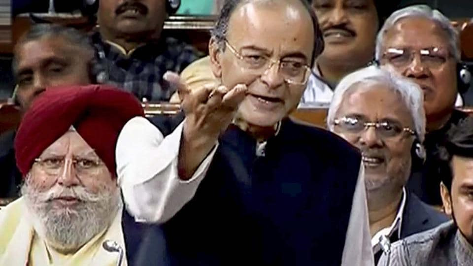 """Arun Jaitley said the Congress does not understand national security, it only understands money, and likened Rahul Gandhi to someone who has a """"natural dislike for the truth."""""""