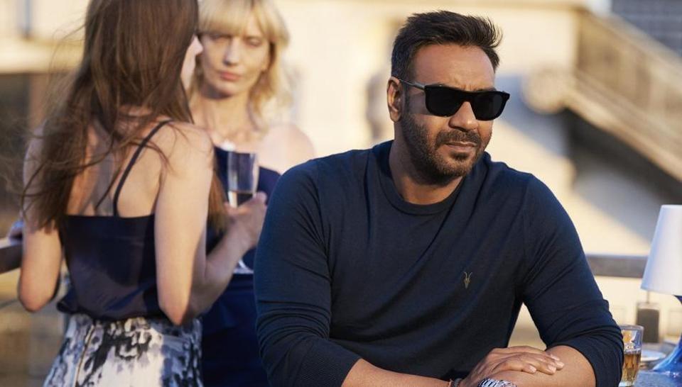 Ajay Devgn's first look from De De Pyaar De.