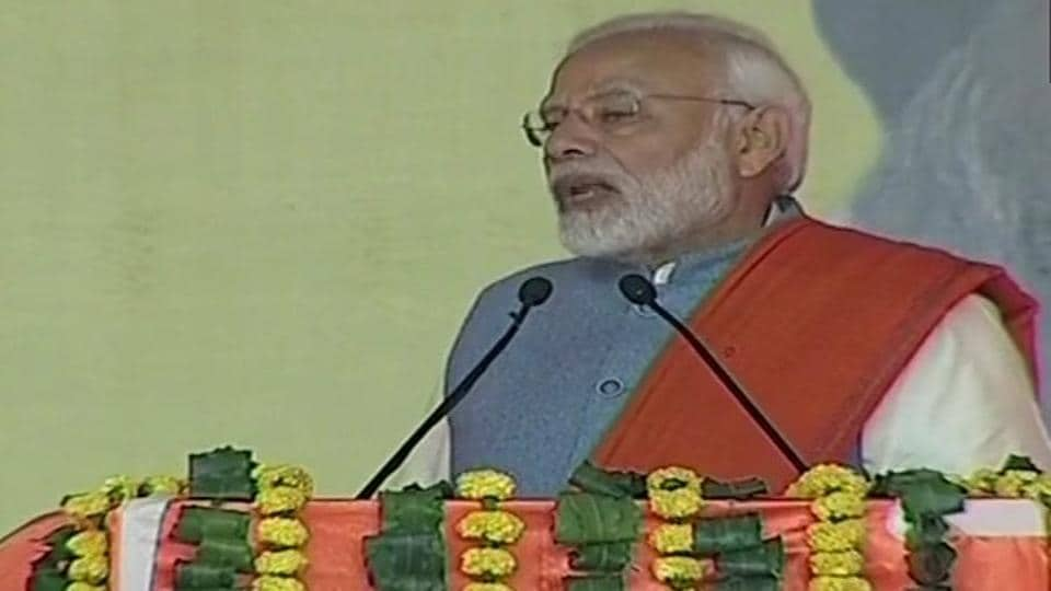 Prime Minister Narendra Modi on Thursday renewed his attack against the Congress on a variety of issues ranging from the Kartarpur Sahib corridor to the 1984 riots and from farmers' loan waivers to corruption.