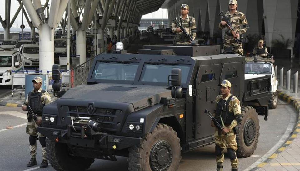 Delhi airport,IGIA,bullet-resistant vehicle