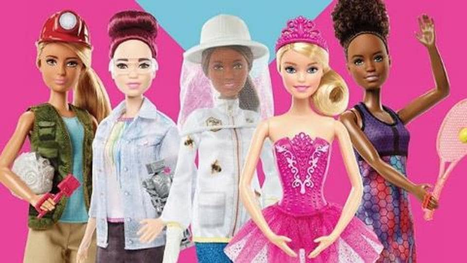 Barbie is promoting role models from around the world to empower girls. (Barbie/Instagram)