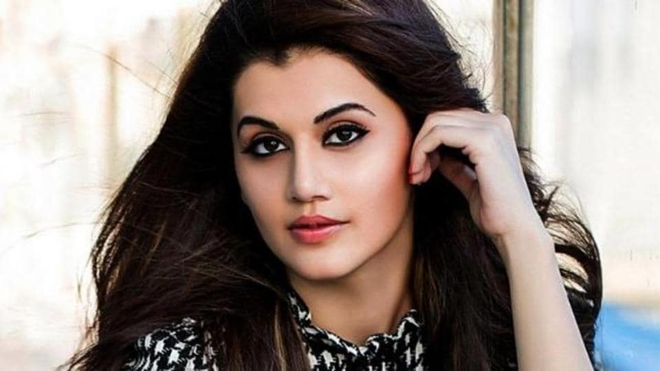 Actor Taapsee Pannu was featured on the cover of a popular fashion magazine.