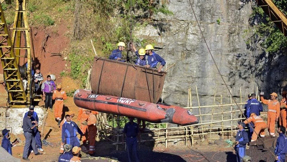 "The Supreme Court expressed its dissatisfaction with the rescue efforts to trace the 15 Meghalaya miners who have been trapped for 22 days. ""We pray to God that all are alive,"" the top court said on a petition that wanted the government to be ordered to scale up the rescue efforts. For people trapped in the mine, the judges said, ""every minute counts"" and they should be brought out. (Anuwar Hazarika / Reuters File)"