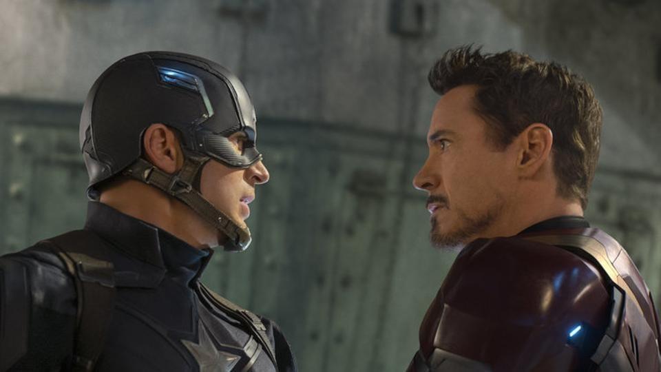 Captain America,Iron Man,Avengers: Endgame