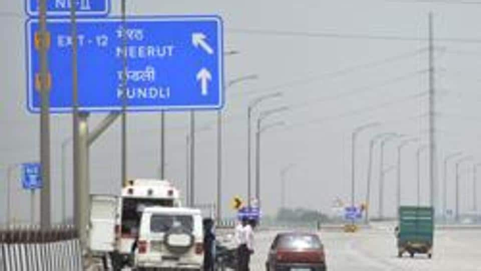 A view Eastern Peripheral Expressway that was launched in May 2018.