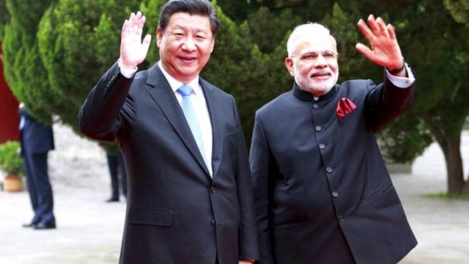 Chinese President Xi Jinping and Indian Prime Minister Narendra Modi at their meeting (File Photo)
