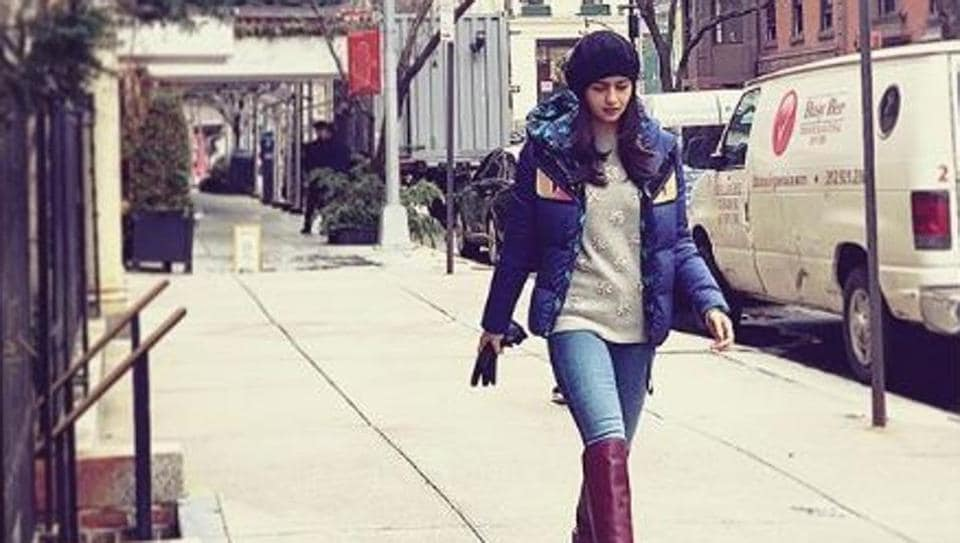 Alia Bhatt shared this pictures of hers fromNew York.