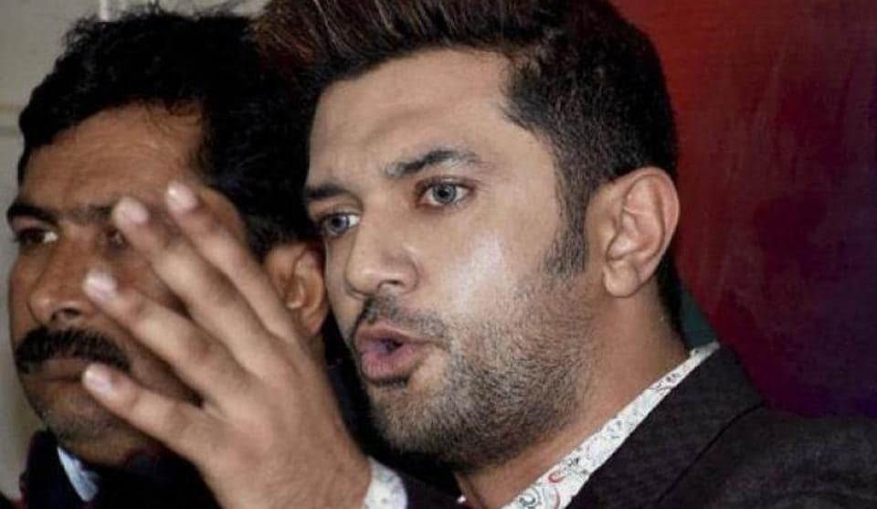 LJP parliamentary board chairman Chirag Paswan expressed apprehension that deviating from the development plank could harm the NDA.