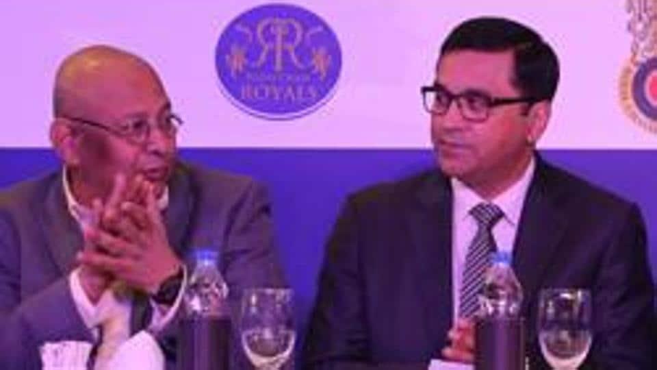 Mr Amitabh Choudhary and Mr Rahul Johri (R)