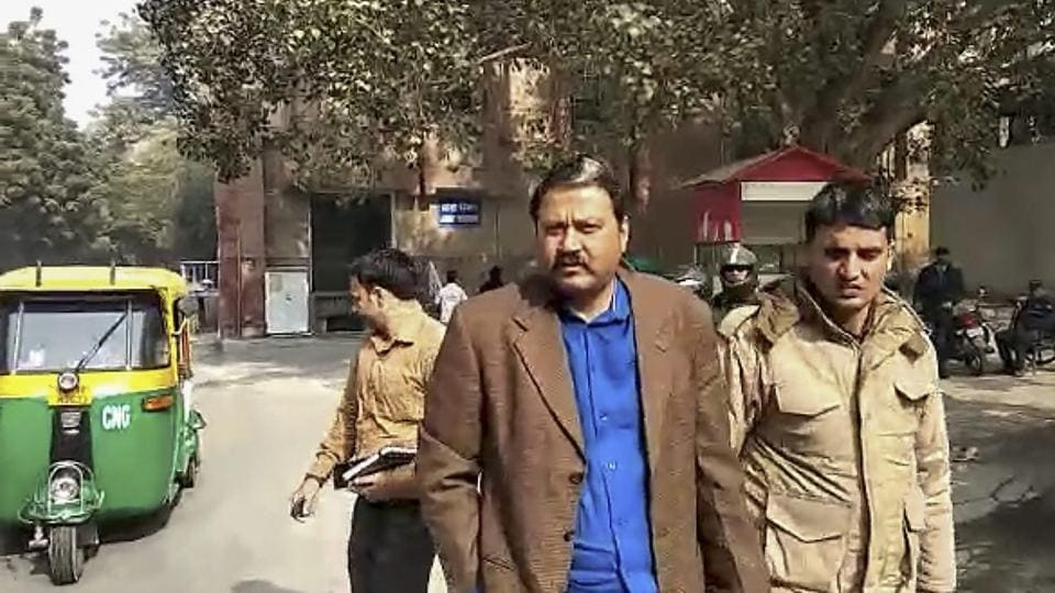 Former Janata Dal United (JDU) MLA Raju Singh was dancing with a pistol in one hand and a glass of liquor in the other, the two disk jockeys (DJ) playing at Singh's farmhouse during the New Year party reportedly told police.