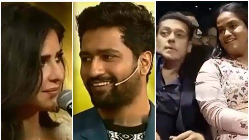 Katrina Kaif,Salman Khan,Vicky Kaushal