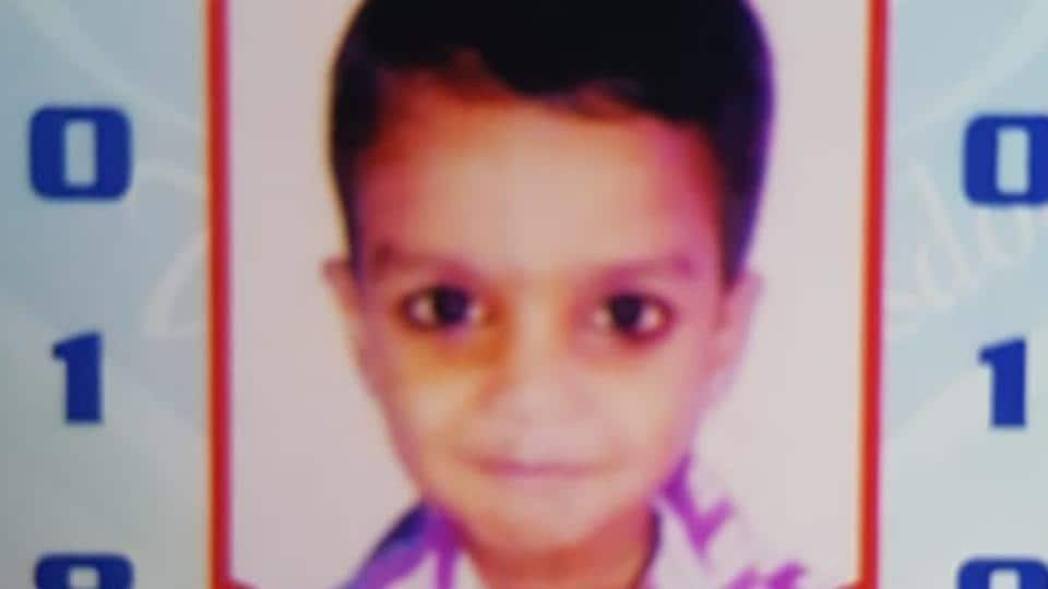 The seven-year-old Ansh Gaud