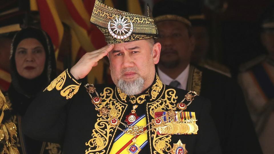 Malaysia's king has abdicated, royal officials said Sunday.